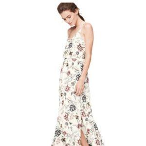 LOFT Wallpaper Floral Maxi Dress